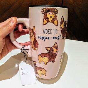 Adorable CORGI Travel Tumbler Mug Cup